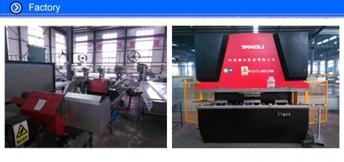 cutting aluminum workshop in kailun from china