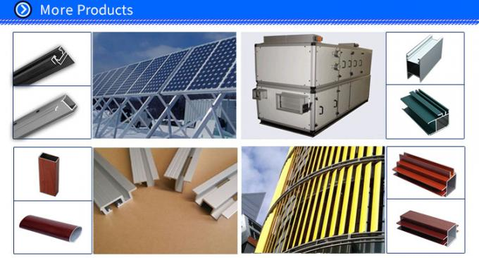 Powder Coated Aluminum Window Shutters Exterior Extrusion Profiles , Adjustable Aluminium Louvres