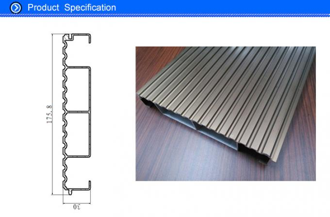 Large Size Champagne Anodized Waterproof and Interlocking Aluminum Decking Boards Materials