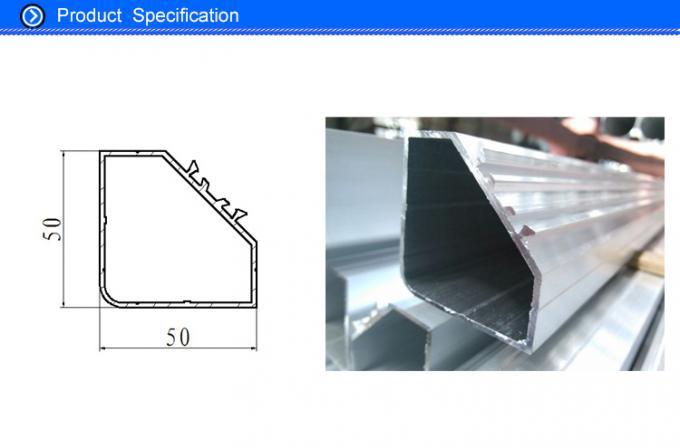 5050 Aluminium Pentapost Frame Material in Air Handling Components for Hotel Applocation