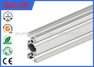 China Extruded Aluminum Rails With T - Slots , T Slotted Aluminum Extrusions Fittings supplier