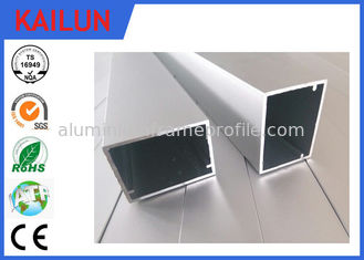 China HVAC Systems Aluminium Frame Section Profile , Hollow Extruded Aluminum Rectangular Tubing supplier