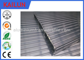 China Waterproof Aluminum Decking Flooring with 6000 series T4 / T5 / T6 Anodized Aluminium Profile supplier