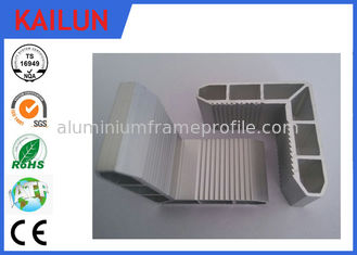 China Mill Finished 90 Degree Anodised Aluminium Angle for Solar Mounting System and Solar Panel supplier