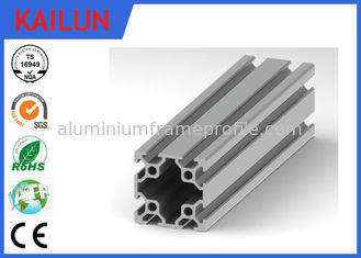 China 8080 T Slot Aluminum Extrusion Framing System for Work Machine Table Assembly supplier
