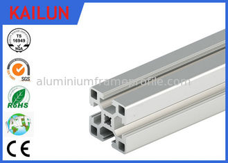 China Square Aluminum Industrial Profile , 4040 T Track Aluminum Extrusions Linear Rail supplier