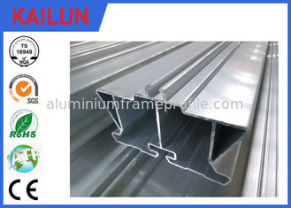 China Square Hollow T Slot Led Aluminium Extrusion Profiles With L Key Connection supplier