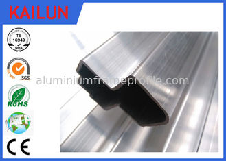 China 6063 - T5 Aluminium Hollow Tube Frame Profile With Anodizing / Electrophoresis Surface Treatment supplier