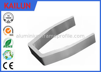China U Shape Fork Extruded Profiles Aluminium For Medical Equipment Parts ISO / TS 16949 supplier