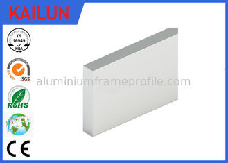 China En 755 Silver Anodized Aluminium Flat Bar for Elevator Material 180 X 20 MM supplier