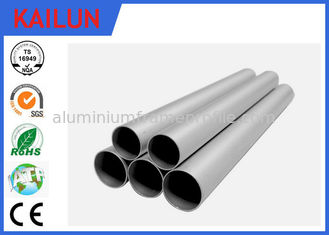 China 1 MM Thin Wall Extruded Aluminium Tube With Sand Blasting Craft 30 MM  Dia supplier