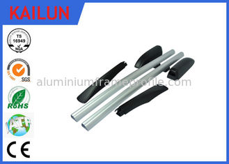 China Natural Anodized Treatment Aluminum Extrusion Profiles for Luggage Rack / Vehicle Top Part supplier