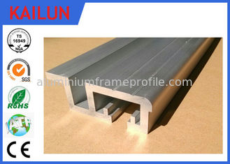 China 75 Mm Width Exterior Door Aluminum Threshold Replacement With 12 Mm Channel supplier
