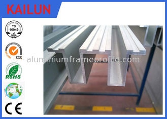 China TOSHIBA Aluminum Double - Groove Elevator Door Sill for Automatic Door System supplier