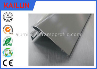 China Electrophoresis Extruded Aluminum Led Housing Withaca With 1.0 - 10.0 Mm Alu Profile Thick supplier
