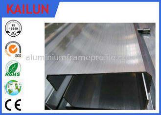China 89MM Width Mill Finish Aluminium Skirting Boards Profiles for Building Cable Channel Use supplier