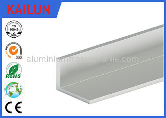 China Anodised Aluminium Unequal Angle , 50 X 40 mm Aluminium Step Edging For Stair Nosing Trim supplier