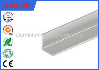 China Natural Silver Anodised Aluminium Angle for 12 Watt Led Light Panel 20 X 20 X 1.5 MM supplier
