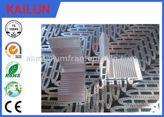 China Cutting Hollow L Shaped Anodised Aluminium Angle for 200W PV Mounting System supplier