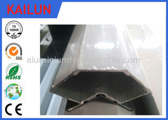 China Customised Anodised 6063 T5 Aluminum Angle For AHU System EN 755 / CB/T 6892 supplier