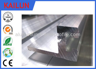 China Silver anodized T Slot Custom Aluminum Extrusions With 6005 / 6063 / 6061 Material supplier