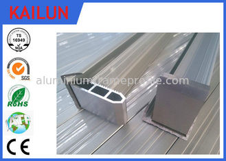 China 1640 X 992 MM 250W Aluminum Solar Panel Frame Profile with 4 Hollow Corner Keys supplier