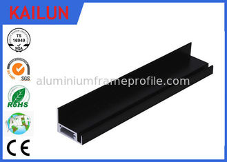 China Screw Fixed Aluminum Solar Panel Frame with  Black Anodized Treatment 40 X 40 MM supplier