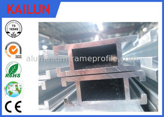 China 60 MM Width Silver Anodized T Slot Aluminum Extrusion Profiles for Coach Seat Crossbeam supplier
