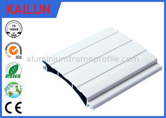 China 86.5 Mm Aluminum Door Profiles Rolling Shutter Parts Sound Insulation Weather Proof supplier
