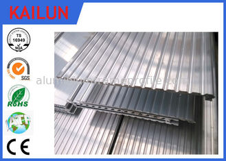 China 6063 T5 Extrusion Waterproof Aluminum Decking Flat Board with Interlocking Groove supplier