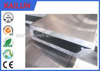 China 6063 T5 Aluminium Flat Bar With Polished / Anodizing / Powder Coating Surface Treatment supplier