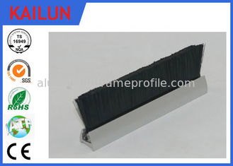 China Anodized Aluminum Stair Railings Exterior , Extrusion Aluminum Handrail Fittings supplier