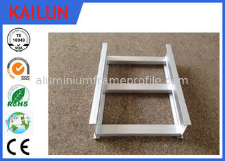 China 100MM Width Waterproof Extrusion Aluminum I Beam Profile for Cable Tray Easy Installed supplier