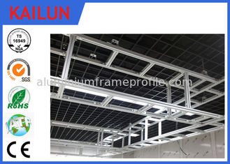 China Customized Aluminum I Beam ,  6005 / 6063 / 6061Structural Aluminium Beams supplier