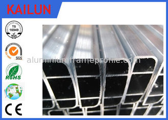 China Mill Finish Extruded Aluminium Rectangular Tube for Electronic Devices Shell supplier