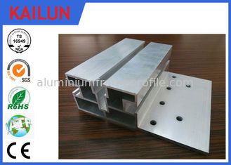 China Structural Aluminium Extrusions , Solar Pannel Mounting Structure Extrusions For Aluminum T - Slotted Framing supplier