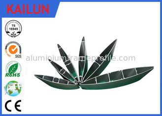 China Industry Extrusion External Aluminium Louvres Shutters with Powder Coating  250 mm width supplier