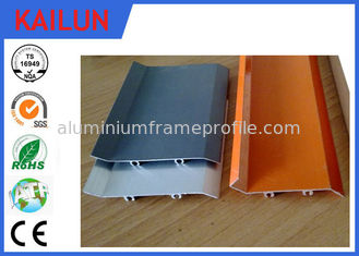 China Powder Coating Waterproof Flat Solid External Aluminium Louvres for Window Frame supplier