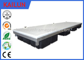 China Extrusion Anodized Aluminum Decking Materials , Waterproof Aluminum Pool Deck supplier