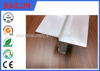 China T3 - T8 Temper Aluminum Door Frame Extrusions Vehicle Interior Trim Parts supplier