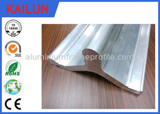 China Industrial Custom Aluminum Extrusions Profiles With Polished / Anodizing / Power Coating Treatment supplier