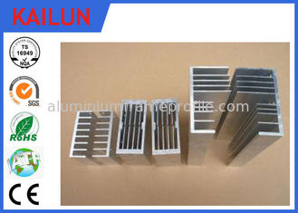China Customized Heat Sink Shape  Aluminum Extrusion Profiles for Electronic Enclosure supplier