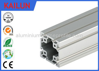 China 40 X 40 MM T Slot Aluminum Extrusion Rails Square Hollow OEM ISO / TS16949:2009 supplier