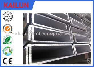 China 6061 T5 Aluminum C Channel Track For Industry Architectural Material Customized Size supplier