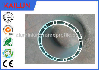 China Mill Finish Round Hollow Aluminum Extrusion for Boats , 6061 / 6005 Aluminum Alloy supplier