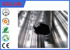 China 28 MM Outer Dia Extruded Aluminium Tube Coach Interior Trim Part With 6063 Material factory