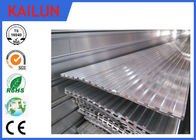 Aluminium Skirting Profiles , Elevator / Escalator Tread Aluminum Deck Cover