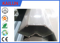 China Customised Anodised 6063 T5 Aluminum Angle For AHU System EN 755 / CB/T 6892 factory