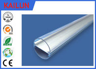 China Extruded Aluminum Enclosure , Half Round 6063 / 6061T8 Led Aluminium Profiles factory