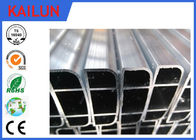 China Mill Finish Extruded Aluminium Rectangular Tube for Electronic Devices Shell factory